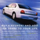 Hyundai Sonata Magazine Advertisement