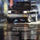 GMC Truck S-15 Magazine Advertisement