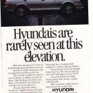 Hyundai Magazine Advertisement -Cars that make sense.