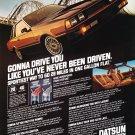 Vintage Datsun 200 SX Magazine Advertisement