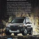 Ford Escape Magazine Advertisement