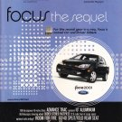 Ford Focus 2001 Magazine Advertisement