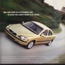 Volvo S60 Magazine Advertisement