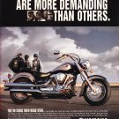 Yamaha Road Star Motorcycle Magazine Advertisement