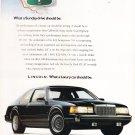 Lincoln Mark VII LSC Vintage Magazine Advertisement