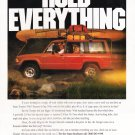 Vintage Isuzu Trooper Magazine Advertisement Hold Everything