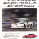 Toyota Vintage Magazine Advertisement on Fast Track