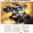 Toyota Motorsports Magazine Advertisement