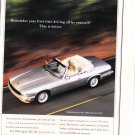 Jaguar Magazine Advertisement