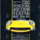 The Sportscar Auction Geneva Magazine Advertisement