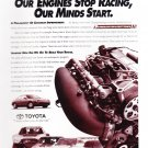 Toyota Motorsports Magazine Advertisement