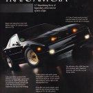Vintage Pontiac Trans Am GTA Magazine Advertisement