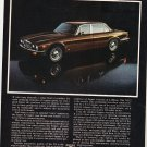 Vintage Jaguar Xj Magazine Advertisement