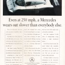 Mercedes Benz Magazine Advertisement