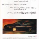 Chrysler Eagle Vintage Magazine Advertisement