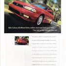 Subaru Vintage Magazine Advertisement