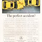 Mercedes Benz Magazine Advertisement-the perfect accident