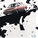 VW Passat Vintage Magazine Advertisement