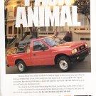 Isuzu Pickup 4x2 vintage magazine advertisement