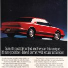 Oldsmobile Toronado Vintage Magazine Advertisement