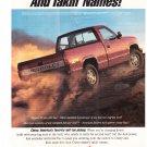 Vintage Chevy Truck Magazine Advertisement
