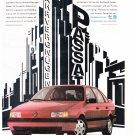 VW Passat Magazine Advertisement