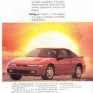 Mitsubishi Eclipse Magazine Advertisement