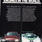Jaguar vintage magazine print advertisement