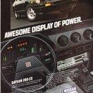 Nissan Datsun 280-zx Vintage Magazine Advertisement