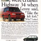 Suzuki Sidekick Vintage Magazine Advertisement