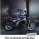 Suzuki Motorcycle Vintage Magazine Advertisement