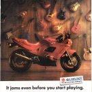 Vintage Suzuki Motorcycle Magazine Advertisement