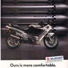 Vintage Suzuki Motorcycle Katana 750 Magazine Advertisement