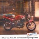 Suzuki GS500E Motorcycle Vintage Magazine Advertisement