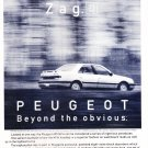 1991 Peugeot  405 Vintage Magazine Advertisement