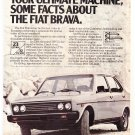 Fiat Brava Vintage Magazine Advertisement