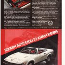 Triumph TR7 Vintage Magazine Advertisement