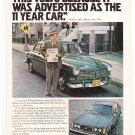 Volvo Magazine Advertisement