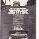 Subaru Vintage Magazine Advertisement