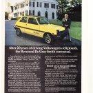 Renault Le Car Vintage Magazine Advertisement