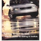 Vintage Audi Magazine Advertisement