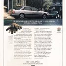 Sterling Magazine Advertisement -British Road Car