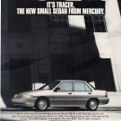 Mercury Tracer Vintage Magazine Advertisement