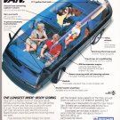 Nissan Van Advertisement Vintage Magazine AD