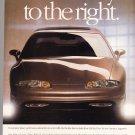 Oldsmobile Aurora Advertisement Vintage Magazine AD