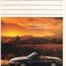 Mazda Merlot Advertisement Vintage Magazine AD