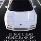 Acura Integra NSX Advertisement  Vintage Magazine AD