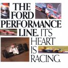 Ford Performance Line Advertisement Vintage Magazine AD