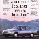Hyundai Sonata GLS Ad Vintage Magazine Advertisement