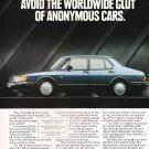 Saab 900 Vintage Ad Magazine Advertisement